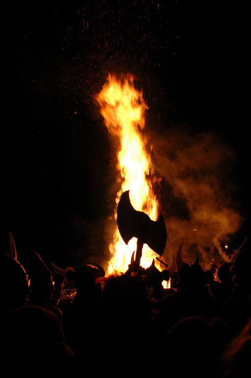 ullr fest bonfire, jan. 2013
